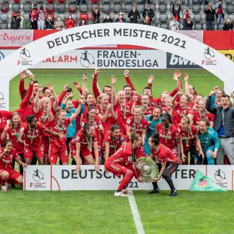 Bayern bejubelt den Titel