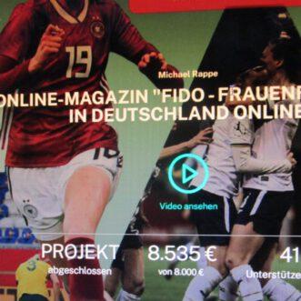 Crowdfunding für FiDo erfolgreich – Jetzt kann es losgehen! Abo-Aktion verlängert bis 31. Juli 2021